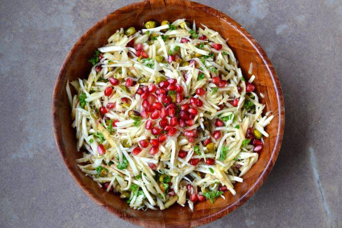 Celery Root & Apple Salad
