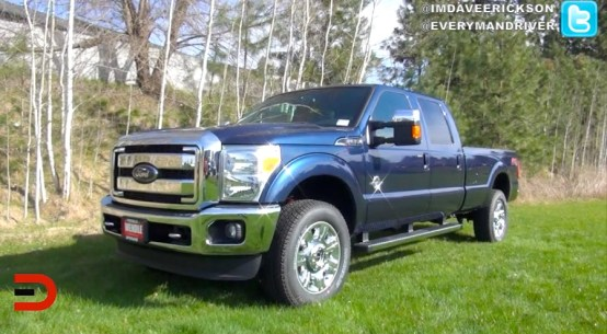2015 Ford F350 Super Duty Crew Cab on Everyman Driver with Dave Erickson