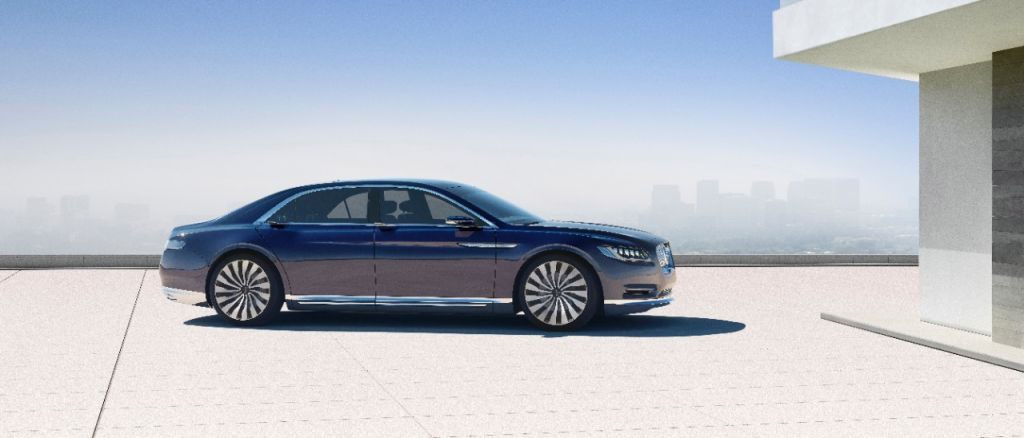 Lincoln Continental Concept on Everyman Driver, Dave Erickson