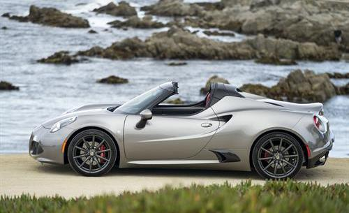 Alfa Romeo 4C and 4C Spiker Add More Options for 2016 on Everyman Driver