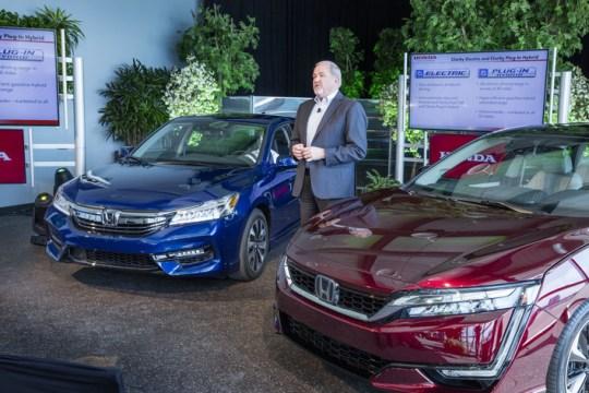 2017 Honda Clarity Fuel Cell on Everyman Driver, Dave Erickson