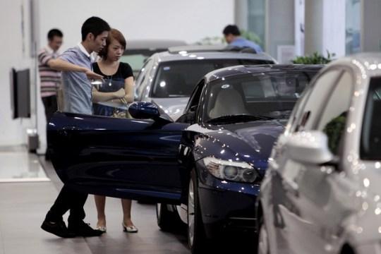 Sube el apetito de los Chinos por las marcas de automóviles de lujo
