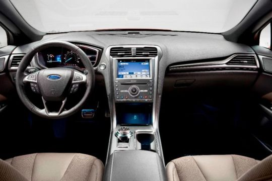 2017 Ford Fusion Interior on Everyman Driver, Dave Erickson