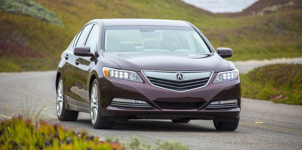 2017 Acura RLX Sport Hybrid on Everyman Driver with Dave Erickson