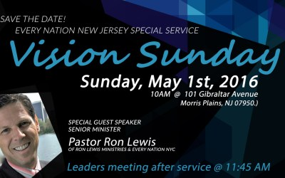 Vision Sunday with Pastor Ron Lewis