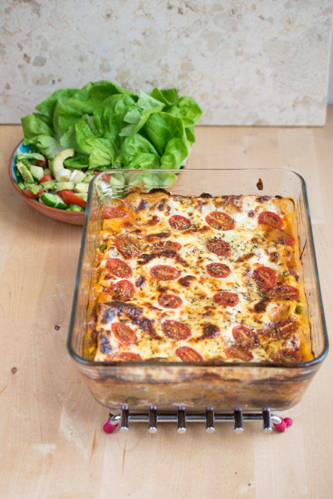 Traditional Meat Lasagne-2