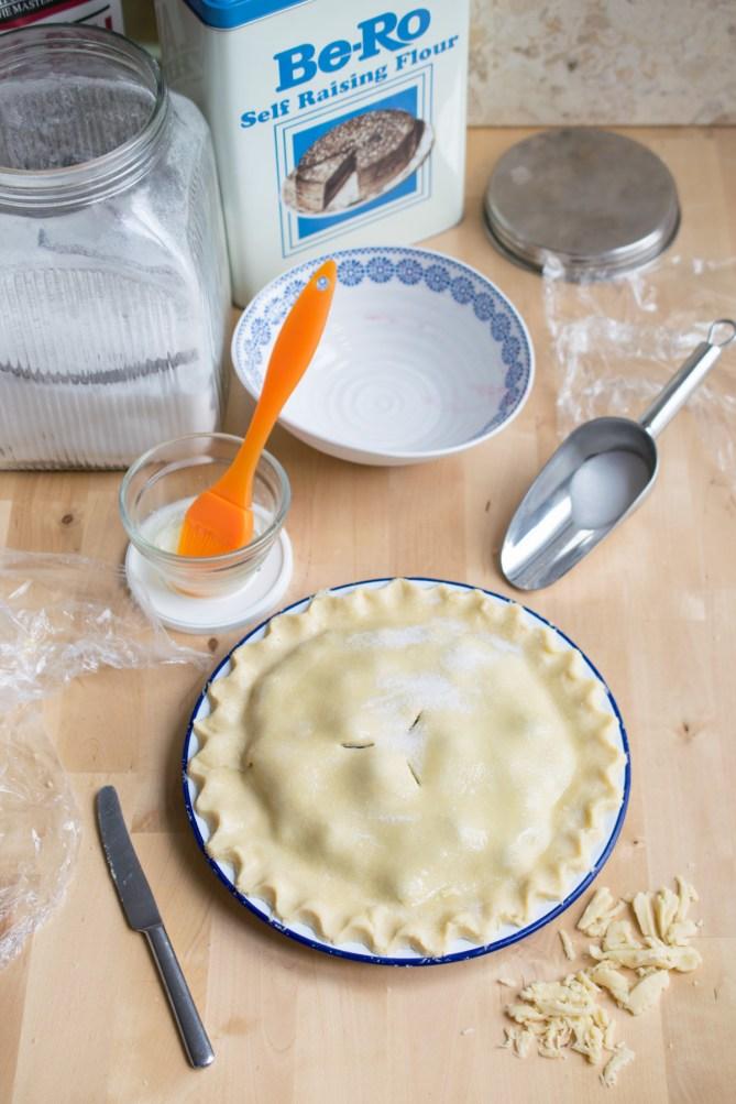 Blackcurrant Plate Pie-7