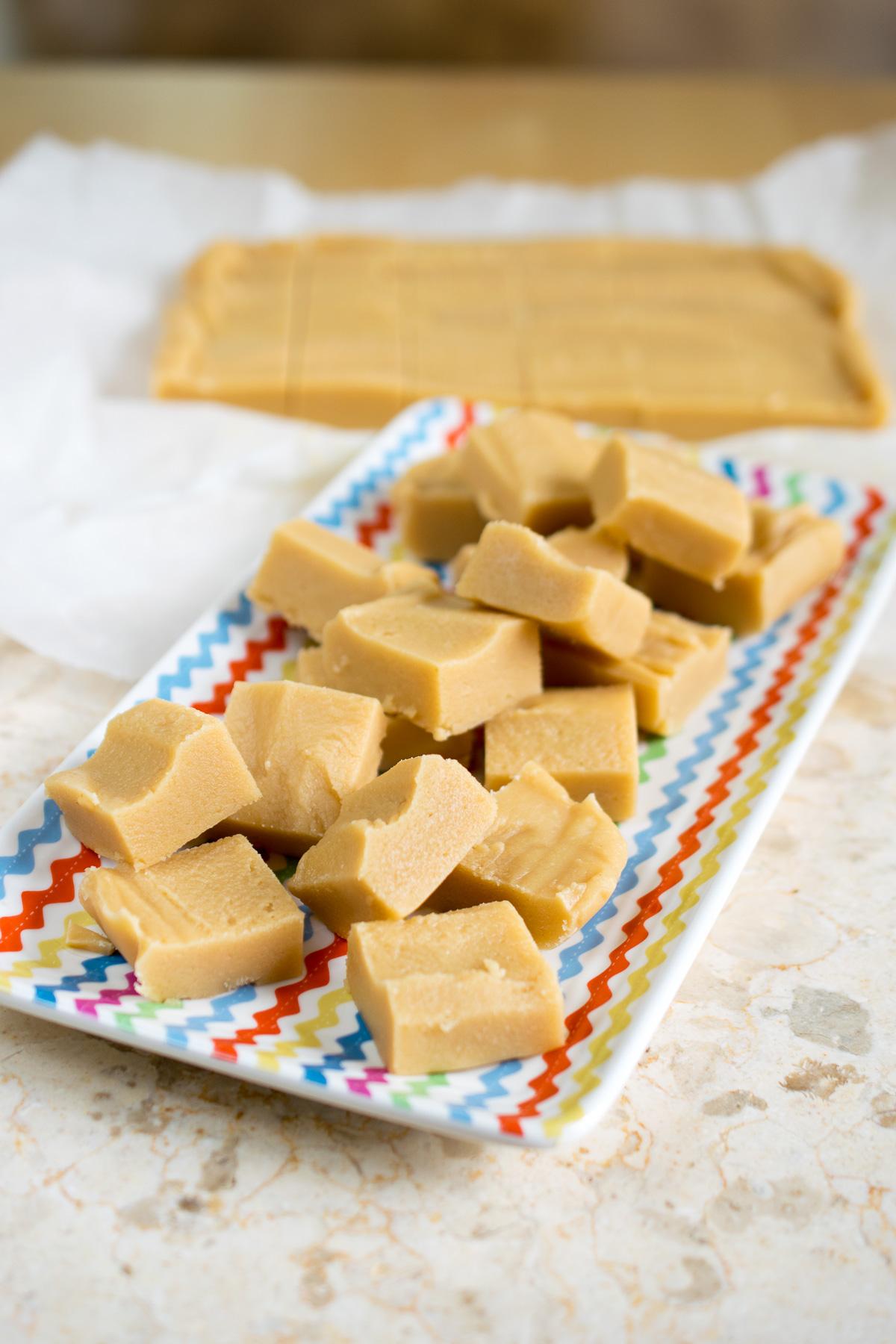Soft & Creamy Vanilla Fudge-5
