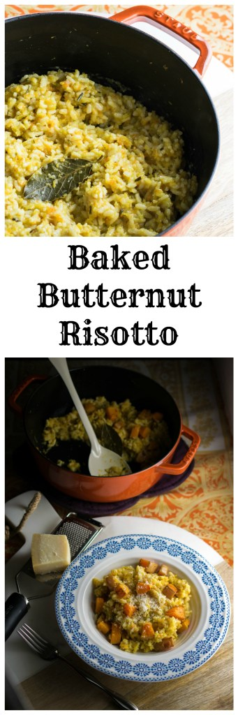 Baked Butternut Risotto