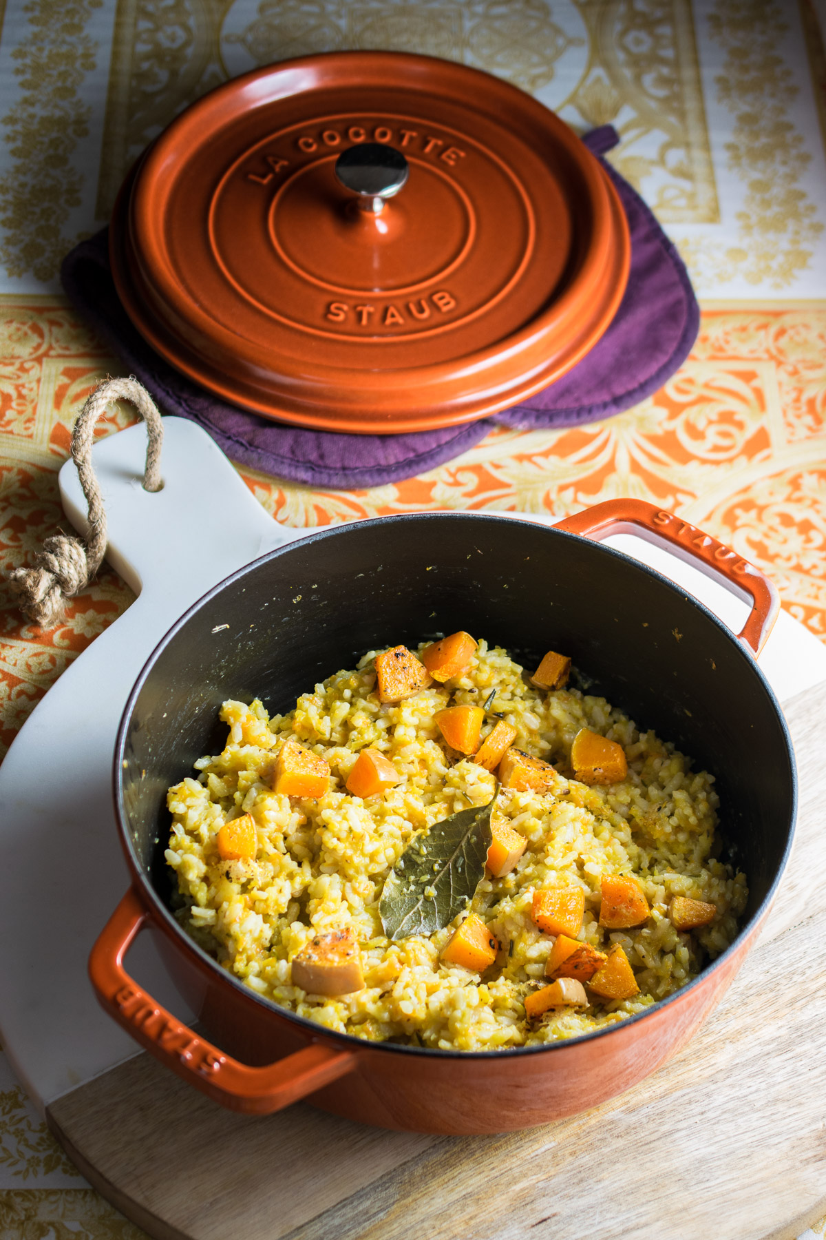 Baked Butternut Risotto-2