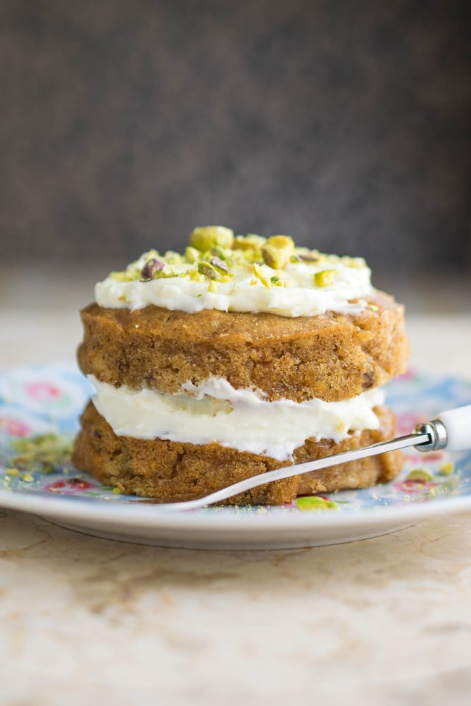 carrot cake for one-2