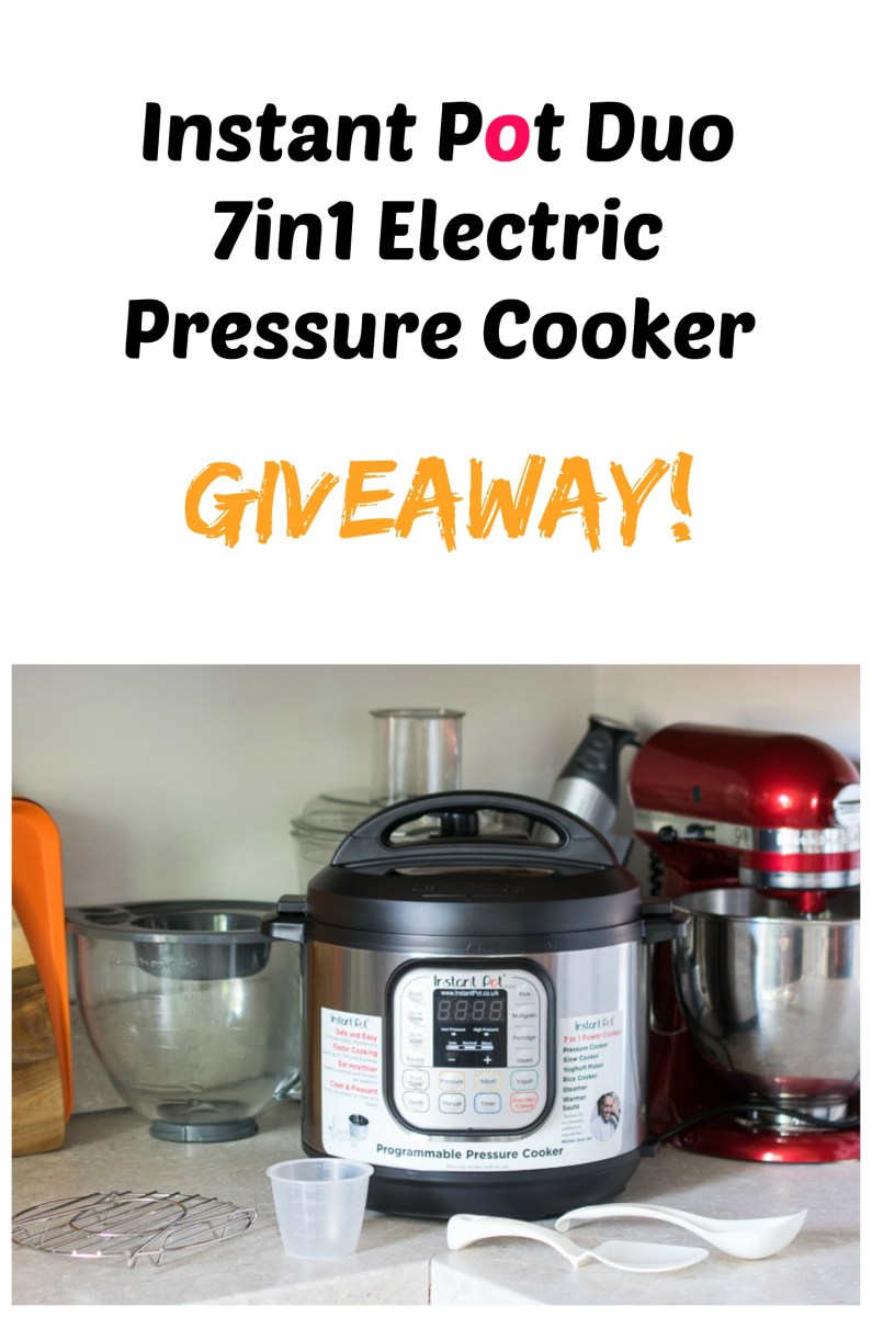 Instant Pot Duo 7in1 Giveaway!