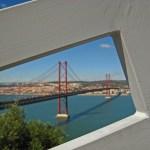 View of the 25th April bridge