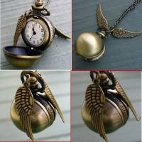 Harry Potter Golden Snitch Neck Watch