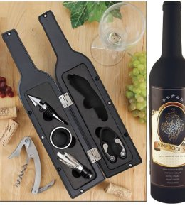 Wine Bottle Novelty Tool Set
