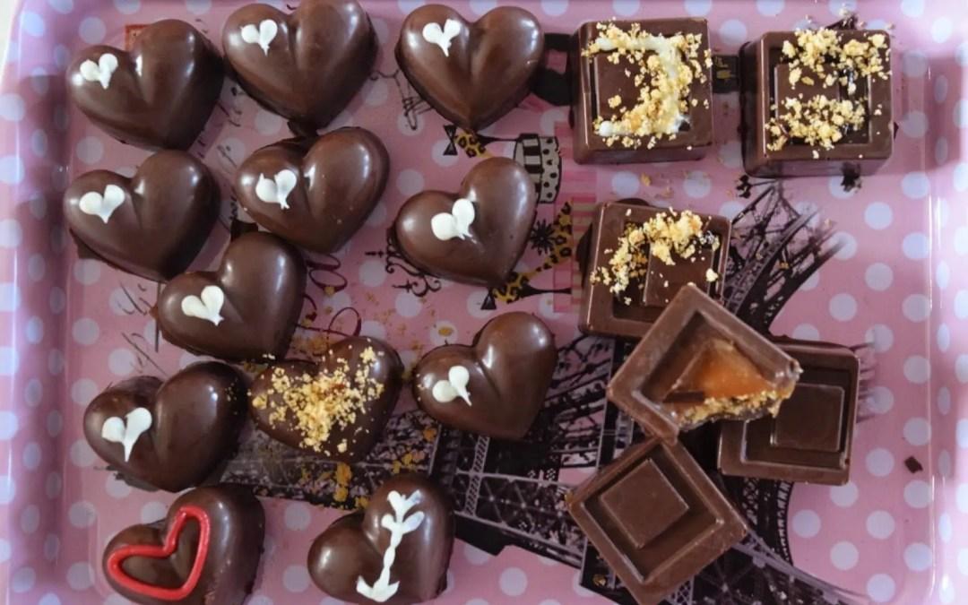 Σοκολατάκια με καραμέλα και μπισκότο!