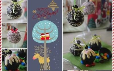 Χριστουγεννιατικες σοκομπάλες έκπληξη!!!!