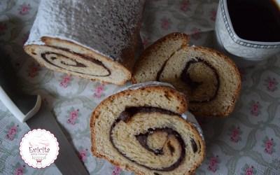 Γλυκό ψωμί με σοκολάτα και σταφίδες!