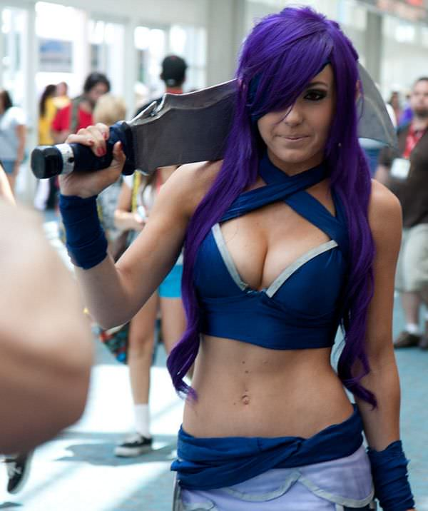 Jessica Nigri tig ol bitties cool stuff  Super Stacked Babes (50 photos)