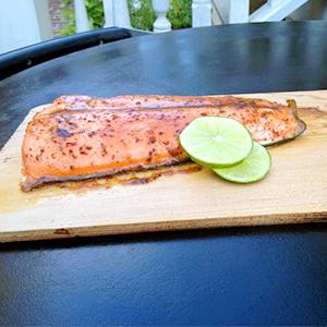 how to cook a whole salmon on a cedar plank
