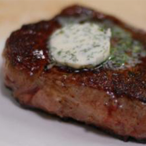 Evo Recipe Steak with Compound Butter