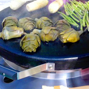 Evo Recipe Grilled Artichokes