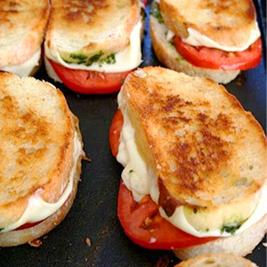 Evo Recipe Grilled Caprese Sandwich