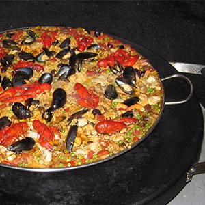 Evo Recipe Seafood Paella