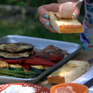 Evo Recipe - Grilled Vegetable Sandwich
