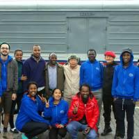 Zweite Etappe im #PeaceTrain: Von Moskau nach Irkutsk