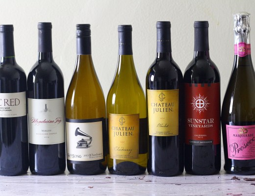 All wines at during the Grocery Outlet Wine Sale are 20% off!