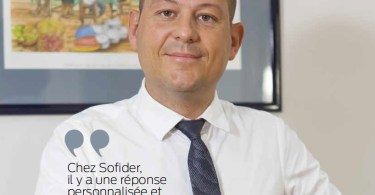 Jérôme Perrin Directeur Général de la Sofider