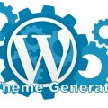 How to create a custom wordpress theme with theme generator