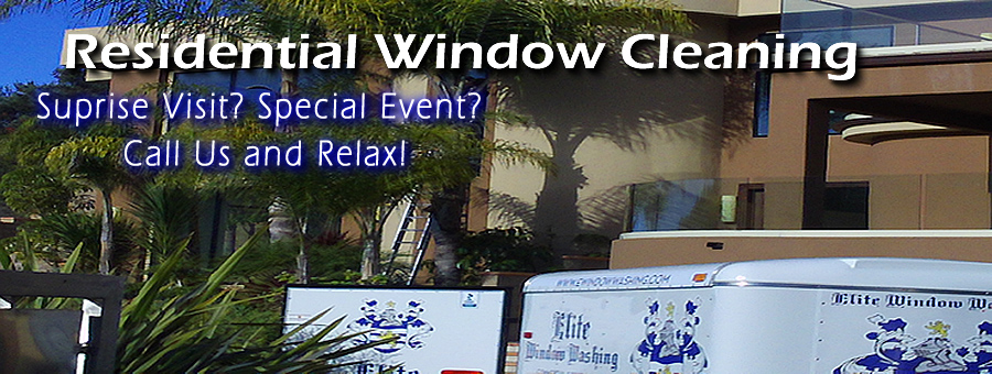 Residential Window Cleaning Professionals of San Diego-Elite