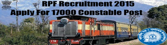 RPF Recruitment 2015