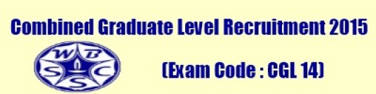 WBSSC CGL 14 Exam 2015 Admit Card