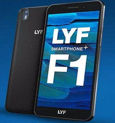 reliance jio lyf f1 smartphone
