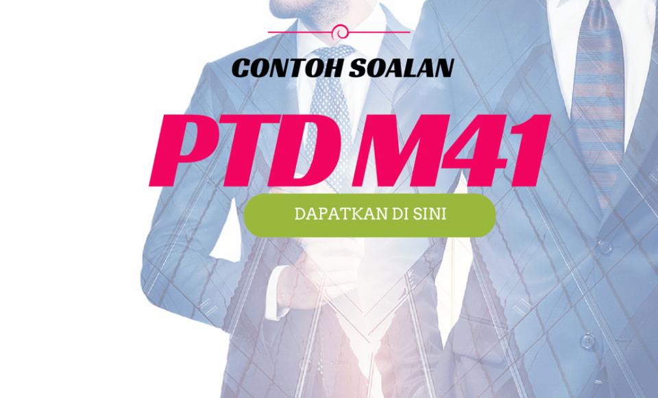 Contoh Soalan Peperiksaan PTD (2)