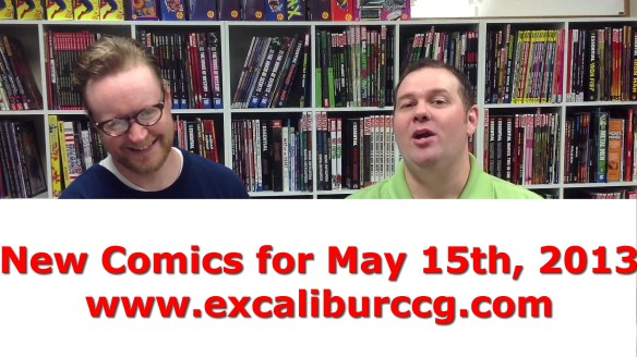 New Comics for May 15th 2013