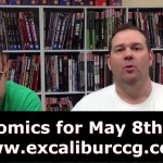 [VIDEO+MP3] New Comics for May 8th, Comics! Batman, Chin Music, Avengers, Thor, Wolverine, and More!