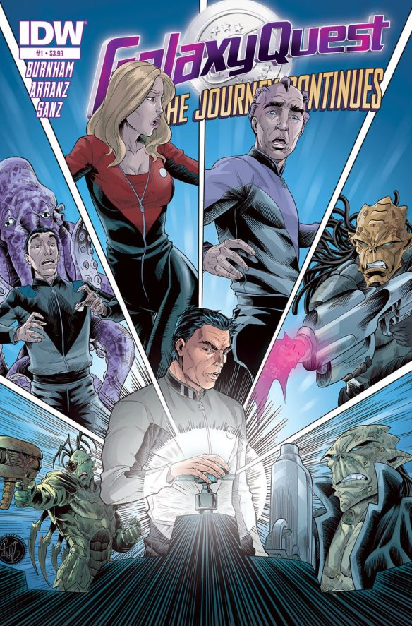 Galaxy Quest: The Journey Continues #1 from IDW Comics