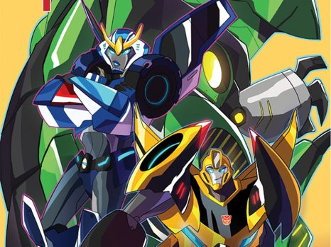 Transformers: Robots in Disguise Animated #1 from IDW Comics