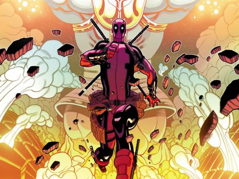 Deadpool Vs. Thanos #1 from Marvel Comics