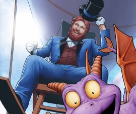 Figment 2 #1 from Marvel Comics