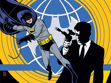 Batman '66 Meets the Man from U.N.C.L.E. #1 from DC Comics