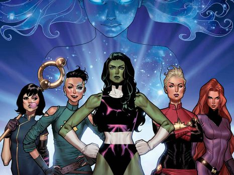 A-Force #1 from Marvel Comics