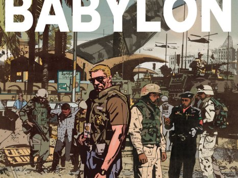 The Sheriff of Babylon #1 from DC Comics