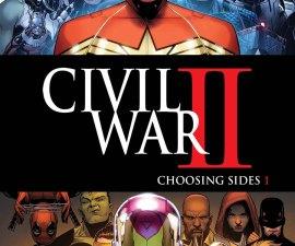 Civil War II: Choosing Sides #1 from Marvel Comics