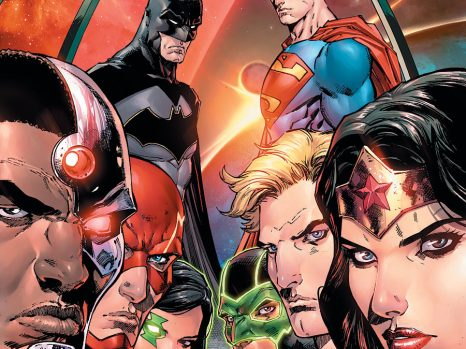 Justice League: Rebirth #1 from DC Comics