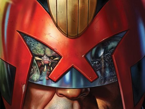 Predator vs. Judge Dredd vs. Aliens #1 from Dark Horse Comics